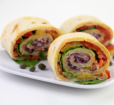 Rainbow Veggie Roll
