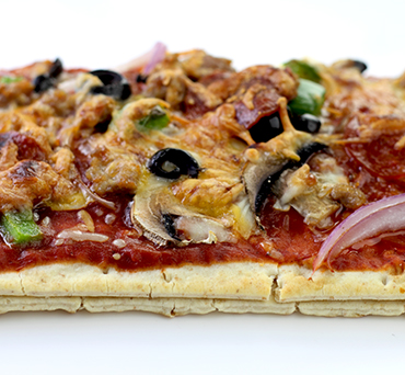 Stuffed-Crust Lavash Pizza