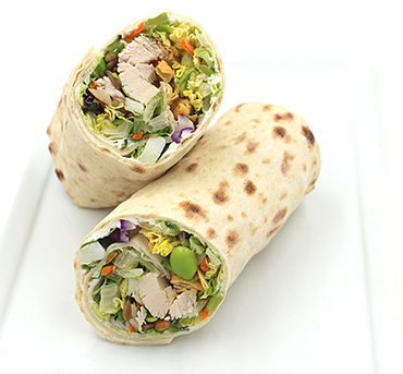 Chinese Chicken Salad Lavash Wrap