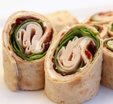 Turkey Cranberry Lavash Wrap