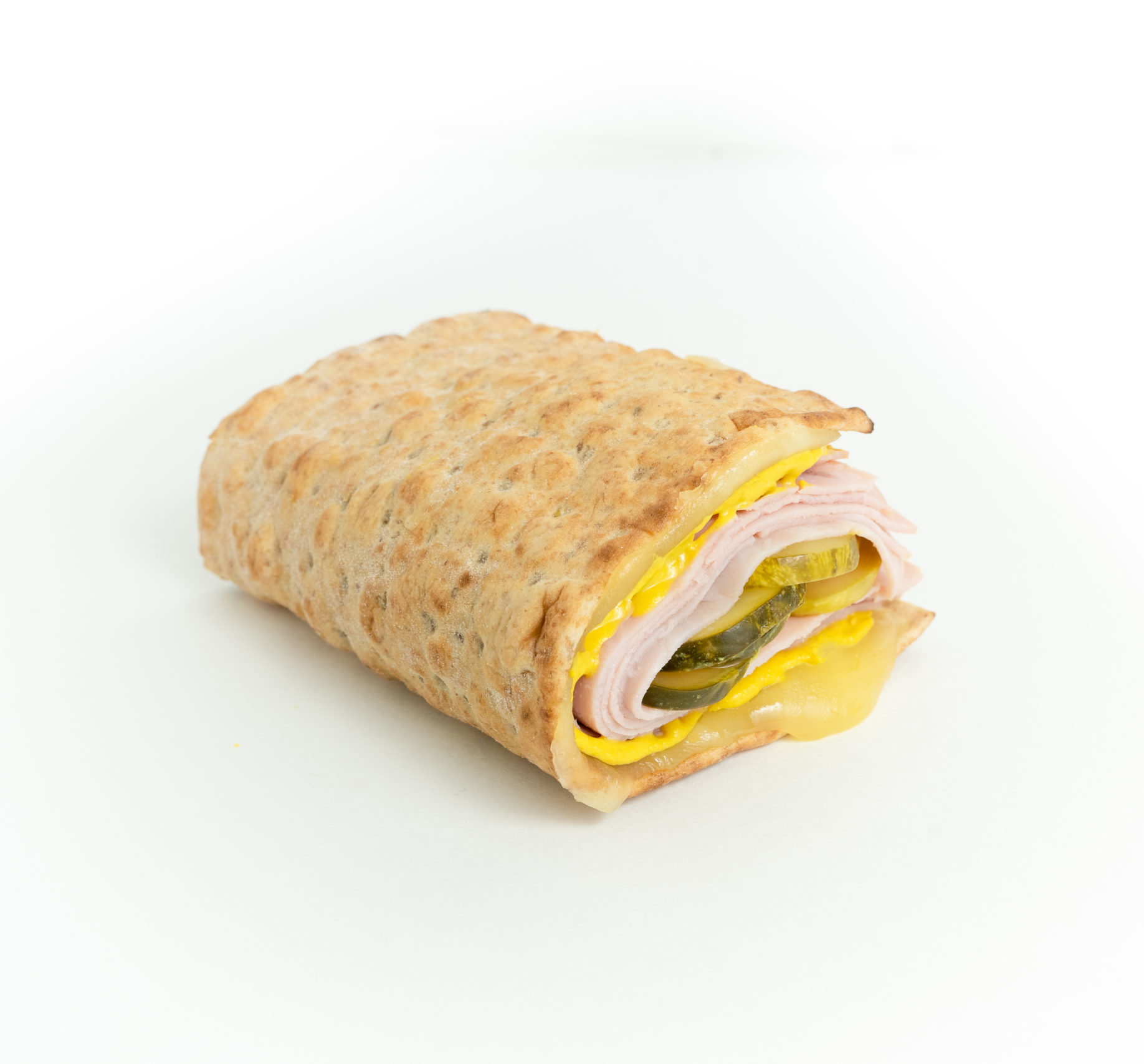 Mini Lavash Ham & Cheese Foldover