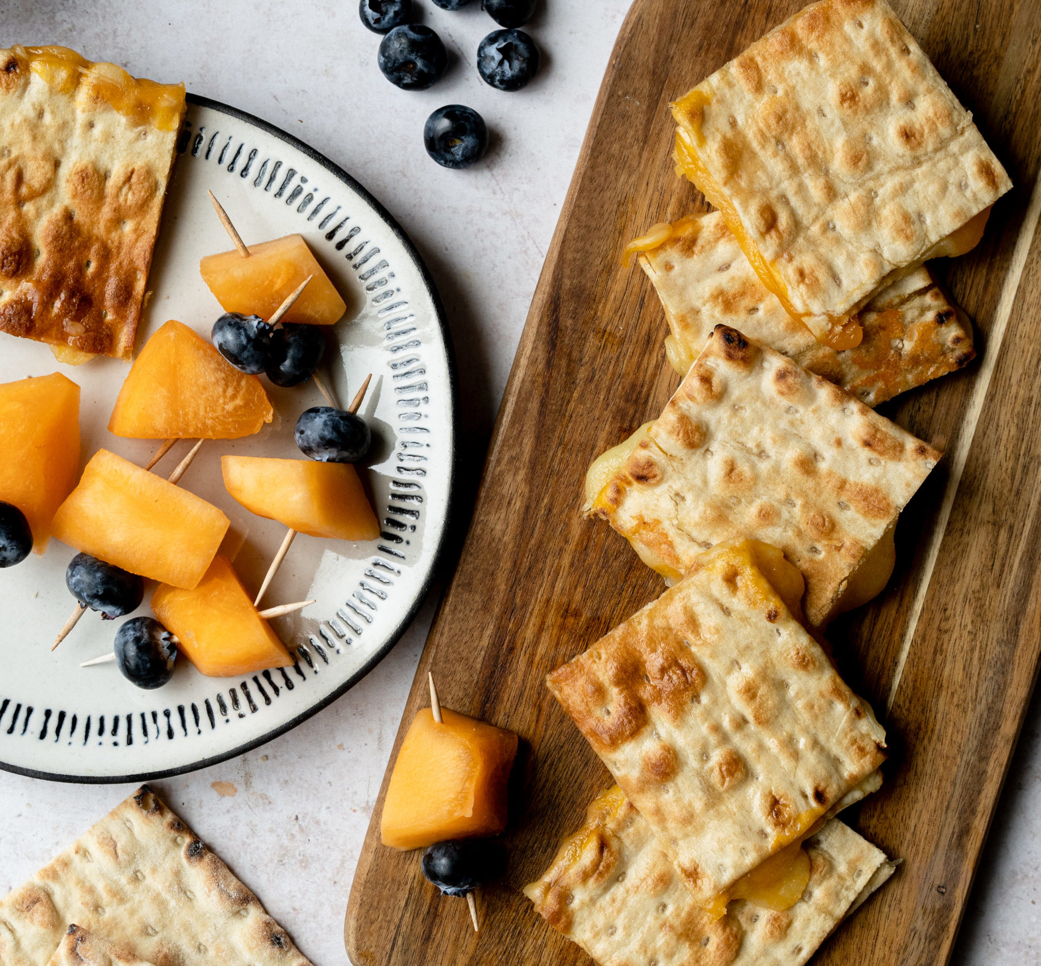 Lavash Grilled Cheese