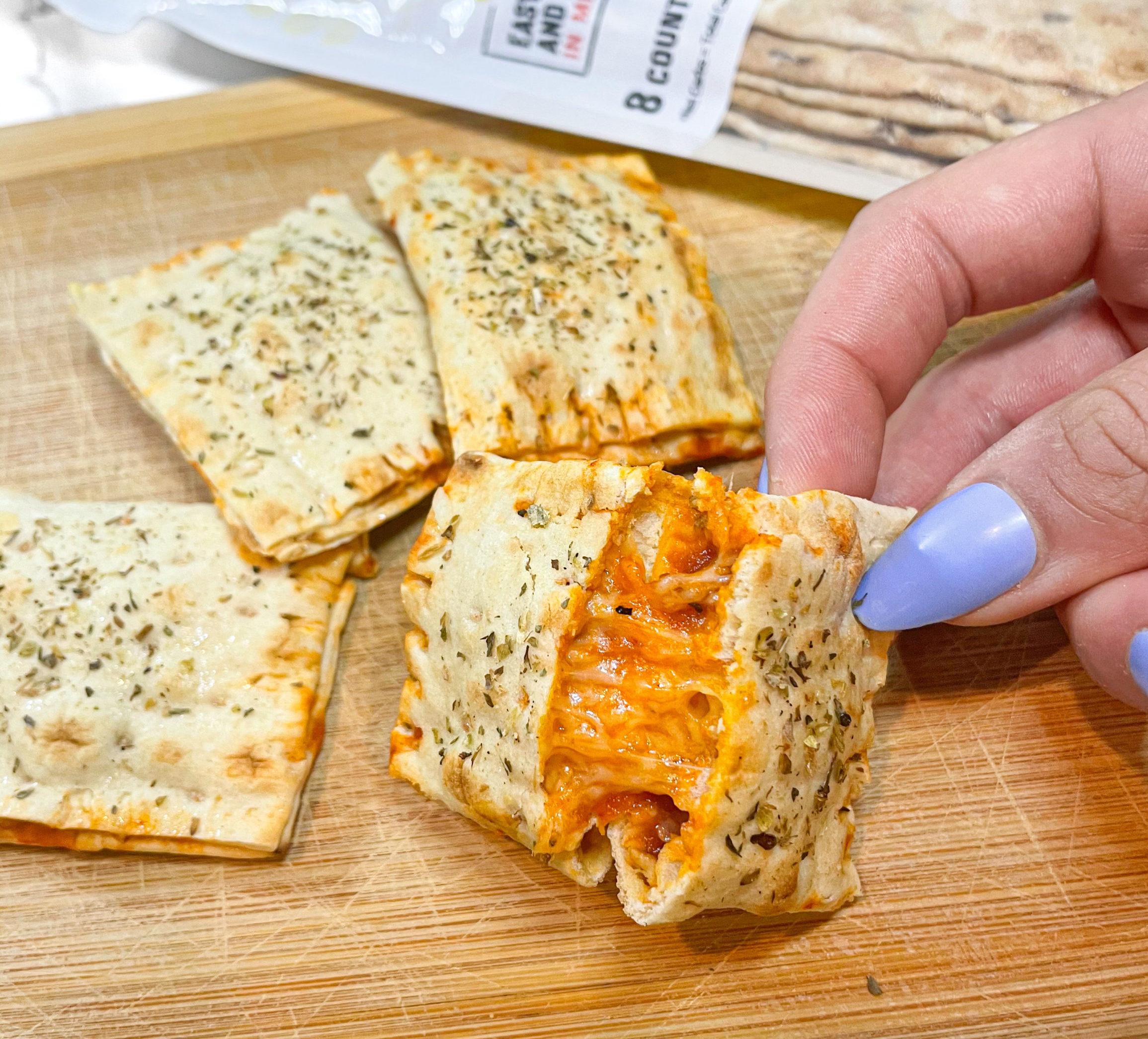 Mini Lavash Pizza Pockets