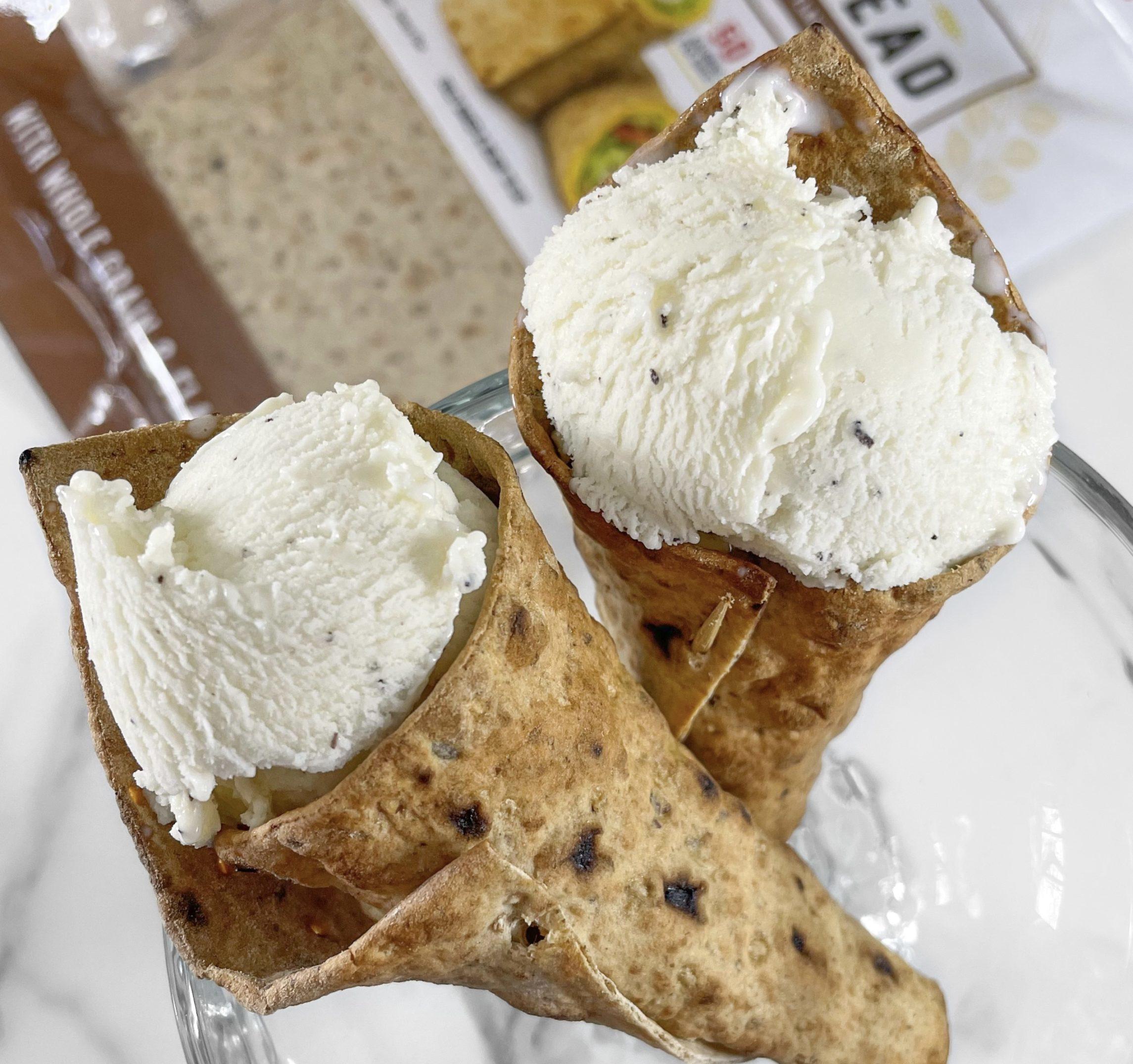 Low Carb Ice Cream Cones